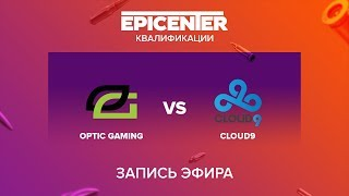 OpTic vs Cloud9 - EPICENTER 2017 NA Quals - map1 - de_mirage [sleepsomewhile]