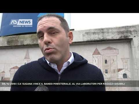 06/11/2019 | CA' SUGANA VINCE IL BANDO MINISTERIALE: AL VIA LABORATORI PER RAGAZZI DISABILI