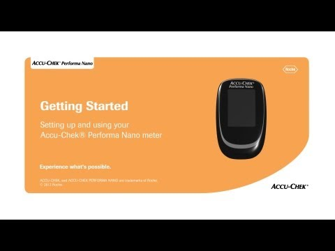 The Accu-Chek® Performa Nano Blood Glucose Meter: Setting the Time and Date