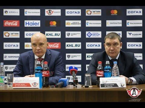 """""""Автомобилист"""" - """"Трактор"""": Пресс-конференция, 31.08.2016"""