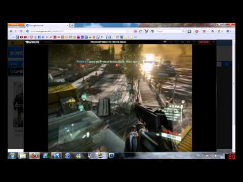 Playing Crysis 2 on the web browser (Gaikai)