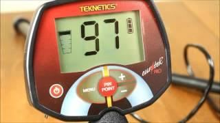 Металлоискатель Teknetics Eurotek Pro. Часть 4 - Функционал и настройки