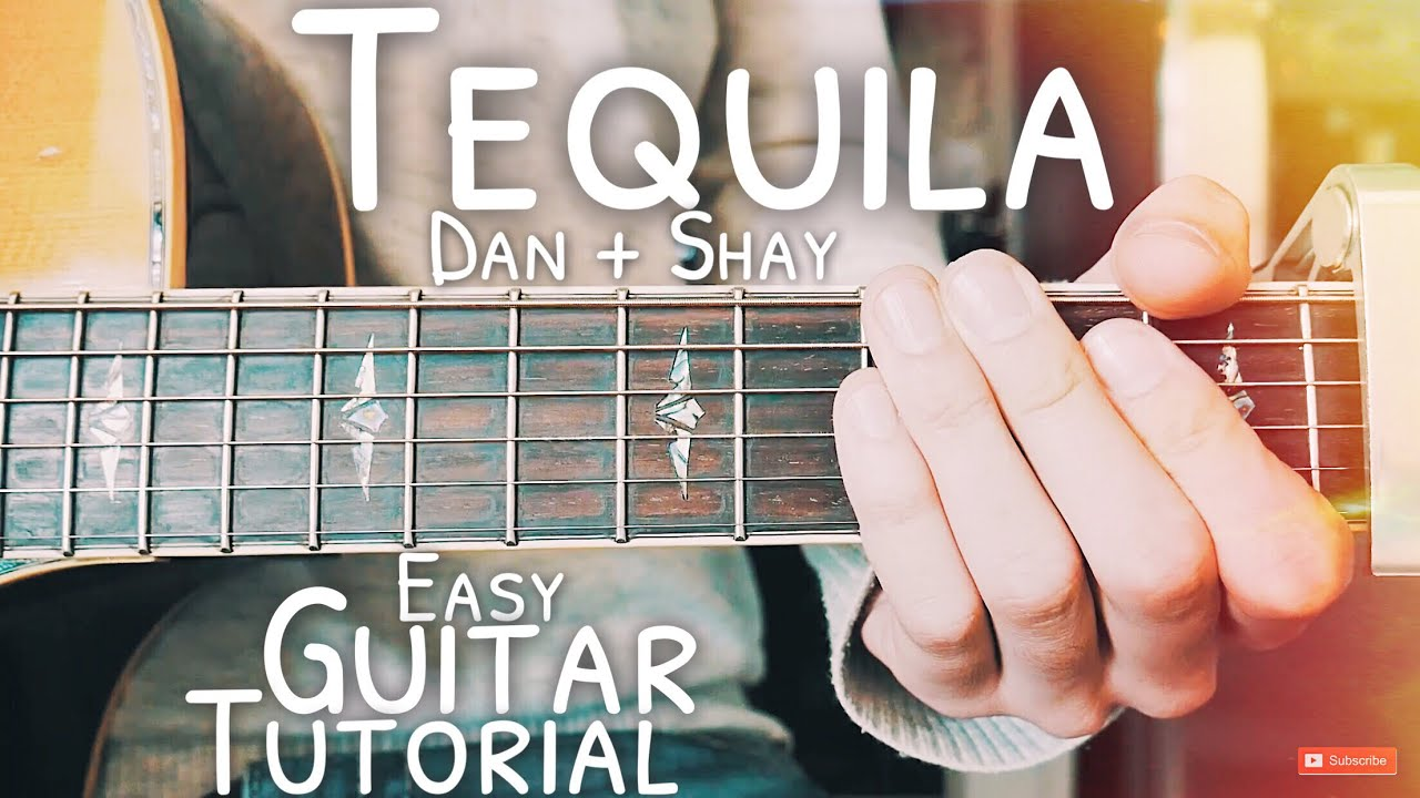 Tequila Dan and Shay Guitar Lesson for Beginners // Tequila Guitar // Lesson #496
