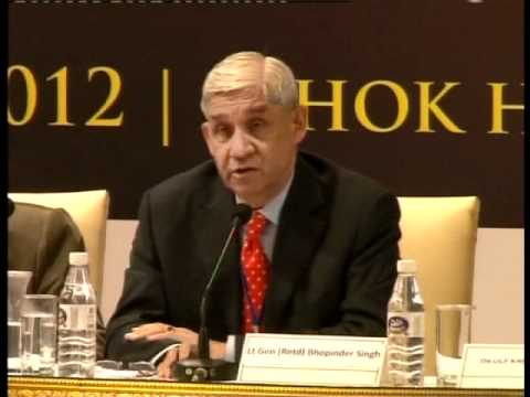 Dr Ulf Kristofferson and Gen. Bhopinder Singh, Session-III