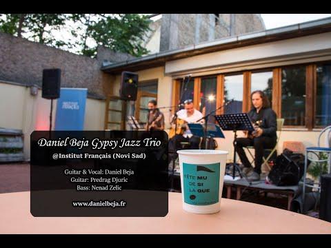 Gypsy jazz live @ Novi Sad French institute: Daniel Beja Trio
