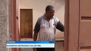 Casal de Agudos tem casa furtada e prejuízo de R$ 20 mil enquanto viajava na lua de mel