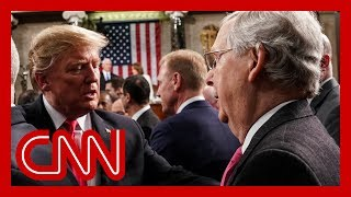 Trump warns McConnell about 'disloyal' Republicans