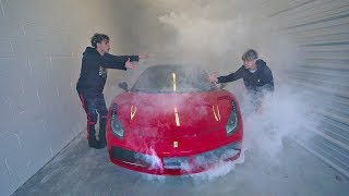 Video I BROKE MY TWIN'S FERRARI.. MP3, 3GP, MP4, WEBM, AVI, FLV Juni 2018