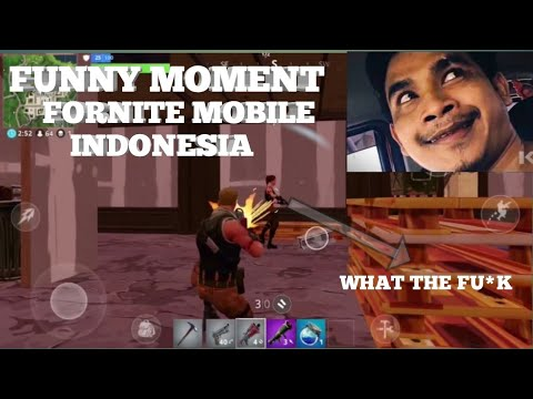FUNNY MOMENT FORTNITE MOBILE INDONESIA TERBARU !!? 😂 #FORTNITEMOBILE #FORTNITEBETA