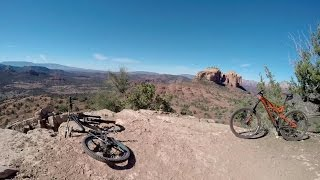 "Sedona ""Hiline"" Uphill - Technical climbs with much exposure. Perhaps not for the skittish of heights! Amazing fun with beautiful views!"