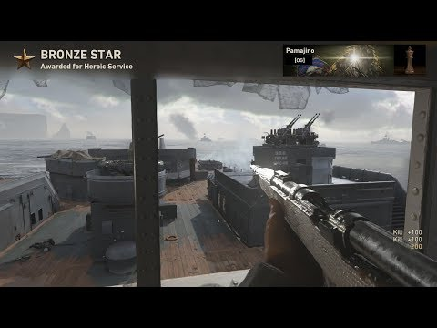 OpTic Pamaj - COD WWII Diamond Camo ALL SNIPERS (World First) (видео)