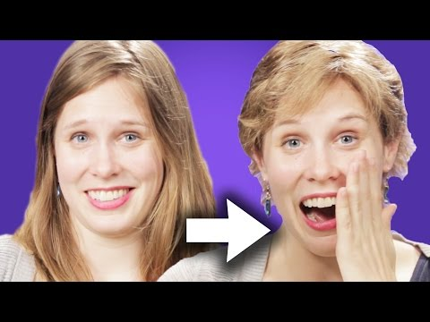 WATCH Women With Long Hair Try Short Hair For A Week!