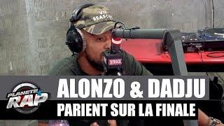 Alonzo & Dadju parient gros sur la finale de la ligue des champions #PlanèteRap