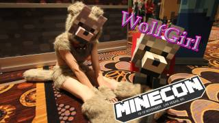 Minecon - Wolf Girl From Minecon 2011