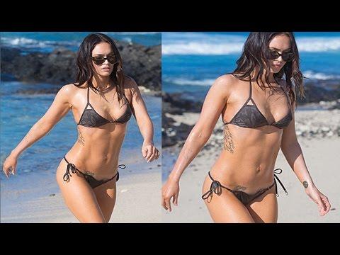 Megan Fox Shows Off $exy Body In A Tiny Bikini