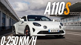 Alpine A110S : 0-250 km/h by Motorsport Magazine