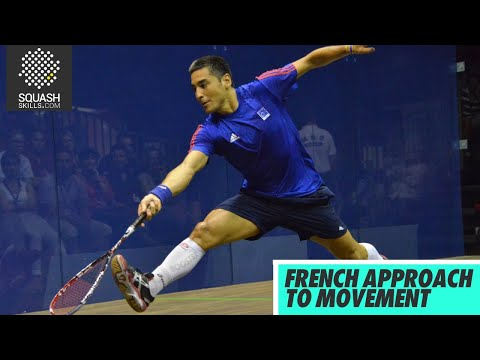 Squash tips: French approach to Movement with Thierry Lincou