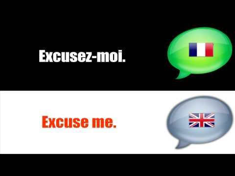 SURVIVAL FRENCH : EXCUSING YOURSELF