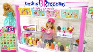 Video Barbie Ice Cream Shop : Princess dolls eat Real Ice Cream! boneka Barbie Toko es krim Sorveteria MP3, 3GP, MP4, WEBM, AVI, FLV Juni 2018