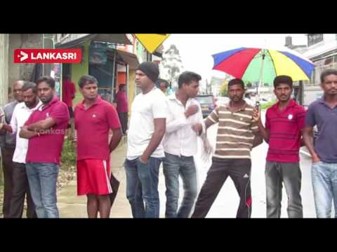 Tamil-Progressive-Alliance-banner-Busting-by-unidentified-persons