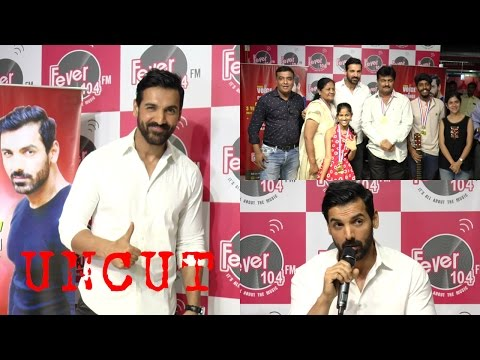 UNCUT: PC With John Abraham To Celebrate 3 Years Of Fever Voice Of Change