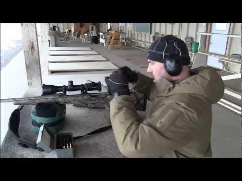 Remington 9.3x62 at 300m to 500m.mp4