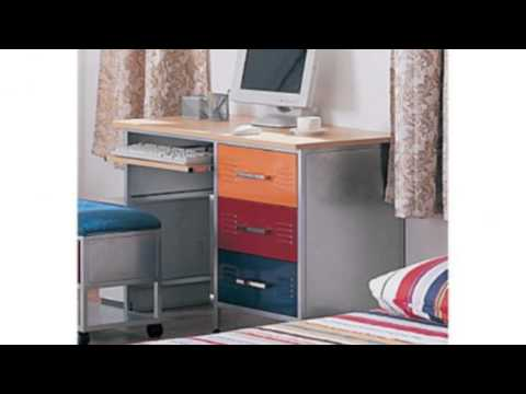 Video YouTube review of the Multicolor Metal Computer Desk