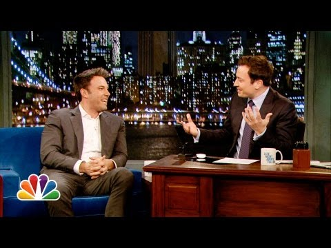 Late Night with Jimmy Fallon - Father to children slightly older than Jimmy's daughter, Ben compares raising his son to his two daughters, and the two talk about Ben's upcoming role as Bat...