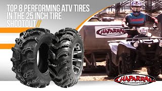 7. Top 8 Performing ATV Tires in the 25 Inch Tire ShootOut for 2018 by Chaparral Motorsports Pt....