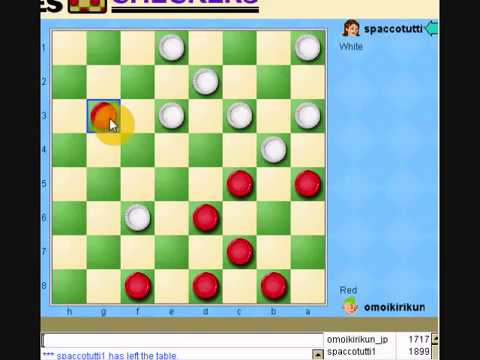 how to win checkers 3 vs 2