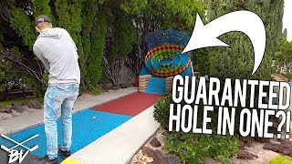 DOING THIS IS A GUARANTEED MINI GOLF HOLE IN ONE!