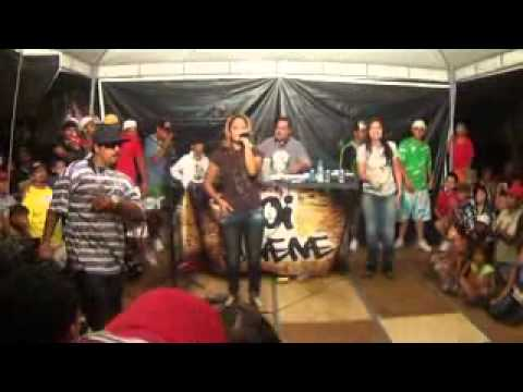Hip-Hop na Praça em Uberaba 27/05-CTS e Atitude Feminina-Violencia Doméstica