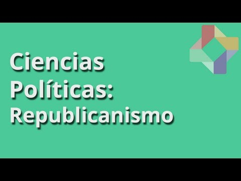Republicanismo - Ciencias Políticas - Educatina