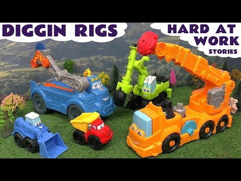 Thomas And Friends Play Doh Diggin Rigs Accident Crash Rescue Lego Surprise Eggs Toy Story Peppa