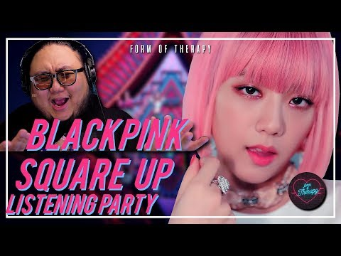 "Producer Reacts to BLACKPINK ""SQUARE UP"" LISTENING PARTY"