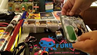 2017 SDCC Swag and Exclusives Summary San Diego Comic-Con 2018