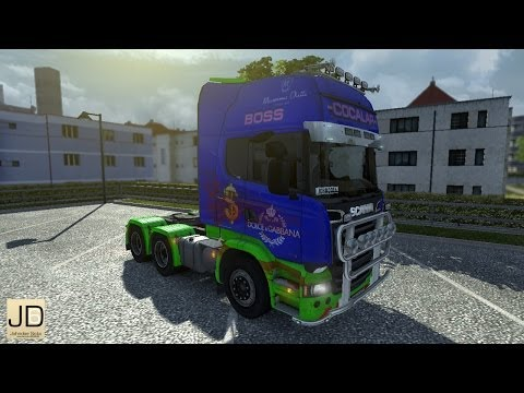 Scania Streamline – Bloody Cocalar