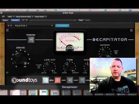 Drum Shaping with Decapitator