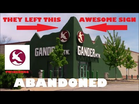 Abandoned Gander Mountain Store