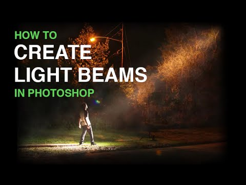 photoshop - View the full episode at http://phlearn.com/create-beams-of-light-from-nothing-in-photoshop Website: http://phlearn.com/ Facebook: https://www.facebook.com/P...