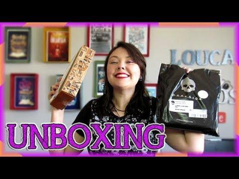 UNBOXING Tag Inéditos + Darkside books   Louca dos livros 2018