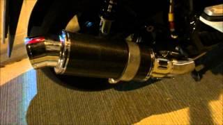 9. คลิปเสียงท่อ WirusWin Premium Exhaust Black Carbon Spec. in Honda PCX 150