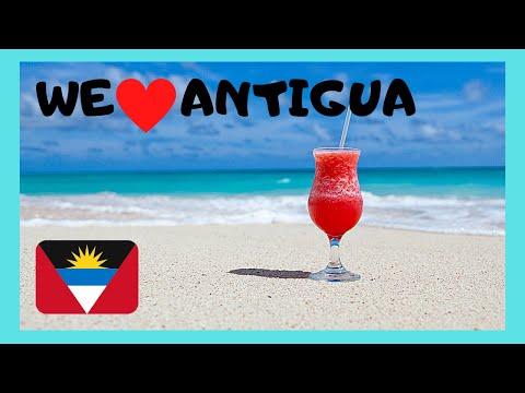 The spectacular beaches of Antigua (Caribbean)