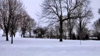 lub caij los daus  ( snow)