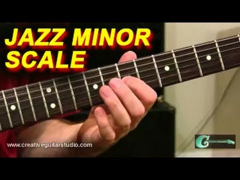 GUITAR THEORY: Jazz Minor Scale