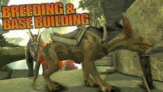 BREEDING & BASE BUILDING | ARK: Aberration | Let's Play ARK Aberration Gameplay | S01E08