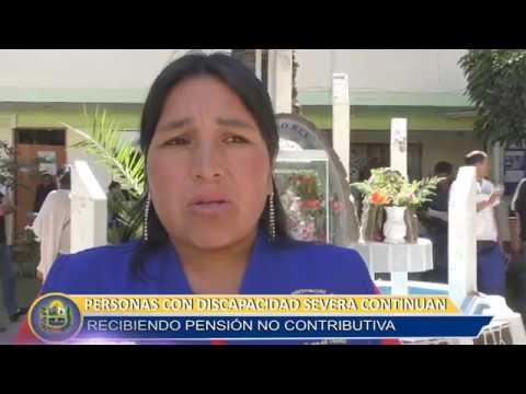 PERSONAS CON DISCAPACIDAD SEVERA CONTINÚAN RECIBIENDO SU PENSIÓN NO CONTRIBUTIVA