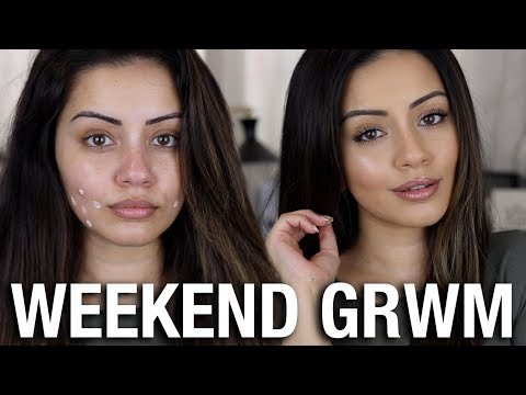 NATURAL GLAM 💄 WEEKEND GET READY WITH ME