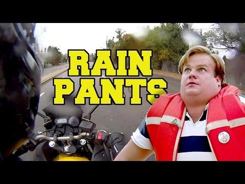 Rain Pants, Jump Ropes and Motorcycle Cops