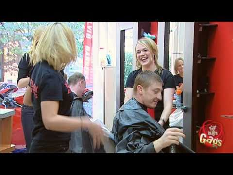 Water Spraying Hairdressers